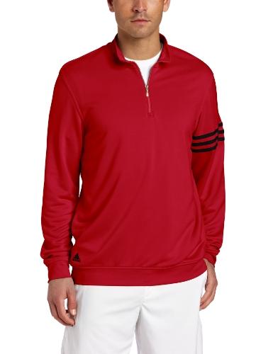 adidas Golf Mens 3-Stripes Layering Top