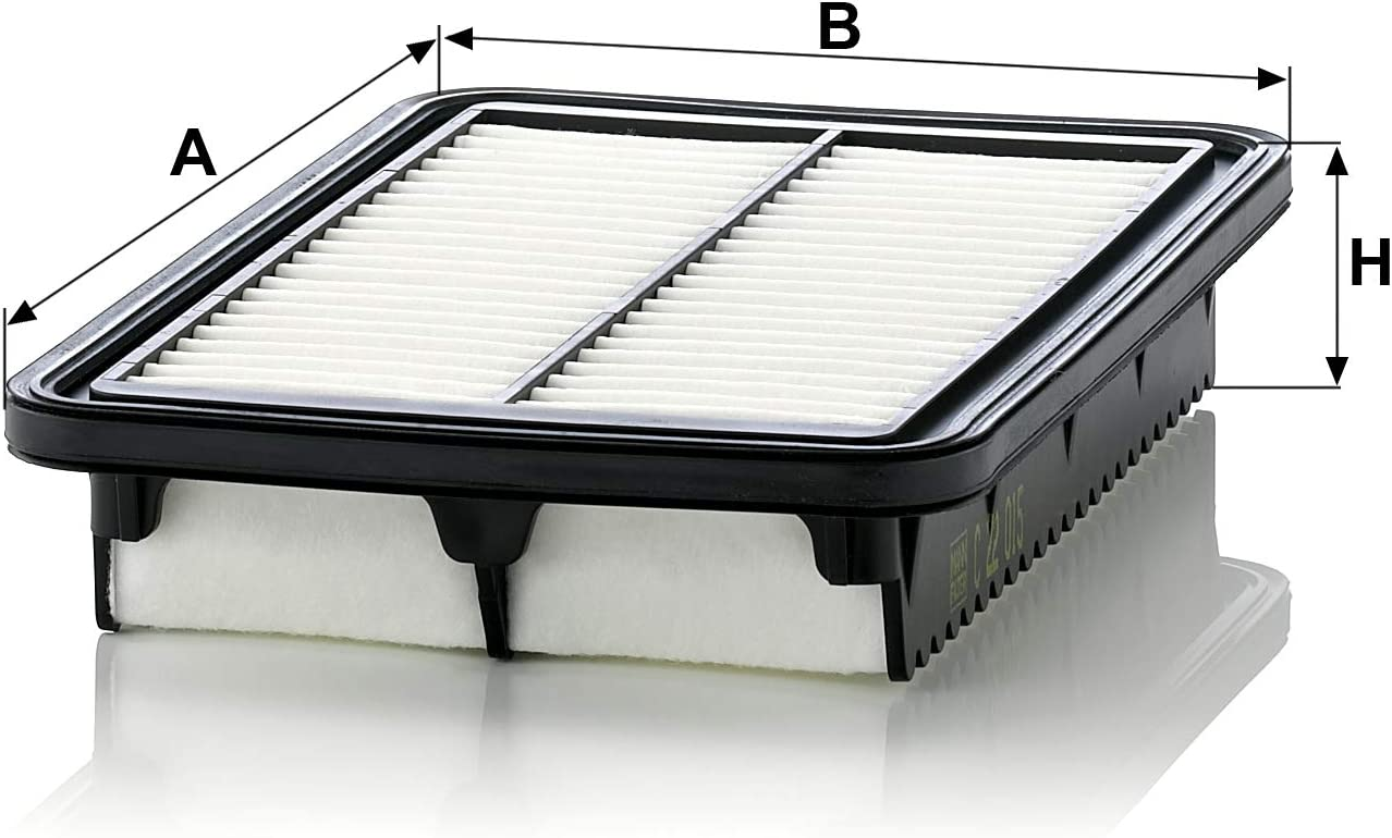 Original Mann Filter Luftfilter C 22 015 Für Pkw Auto