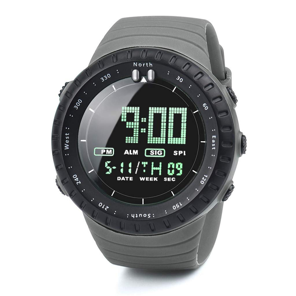 Amazon.com: Fashion Mens Watch LED Digital Watch Men Watch ...