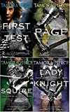 Protector of the Small 4 book set quartet Tamora Pierce First Test Page Squire Lady Knight