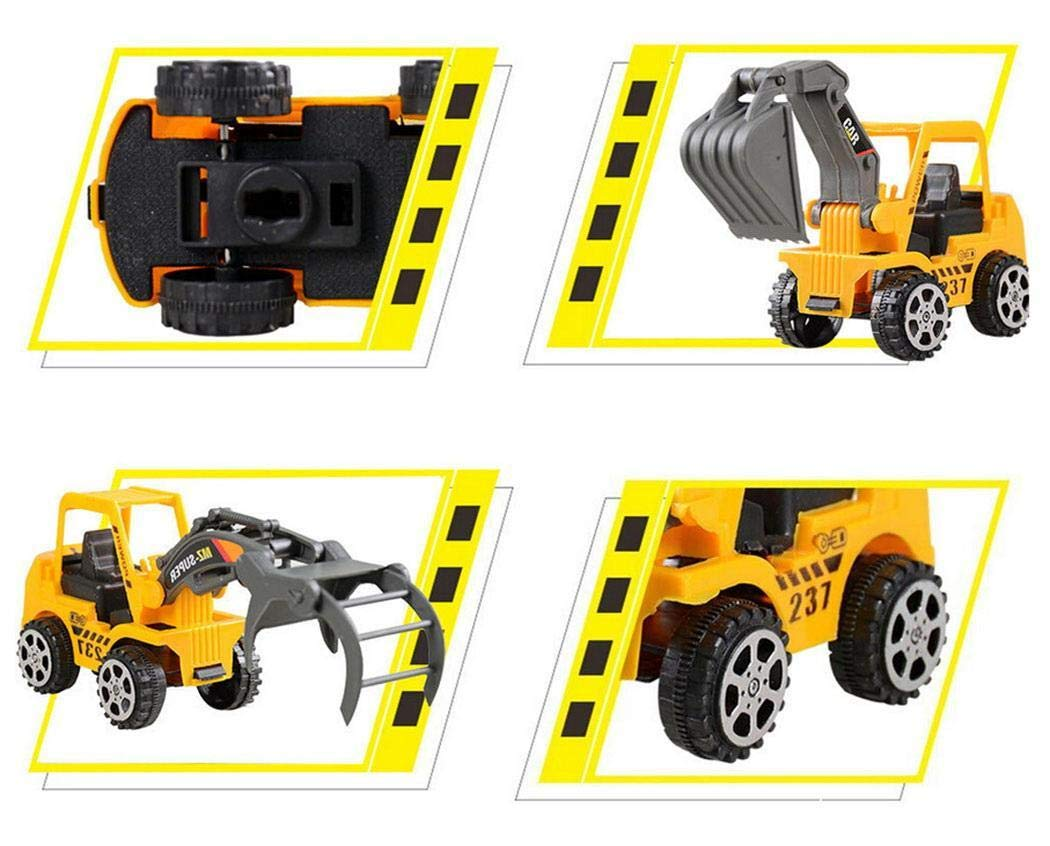 Corgy 6Pcs Construction Vehicle Truck Push Engineering Toy Cars Children Kid Toys Play Vehicles