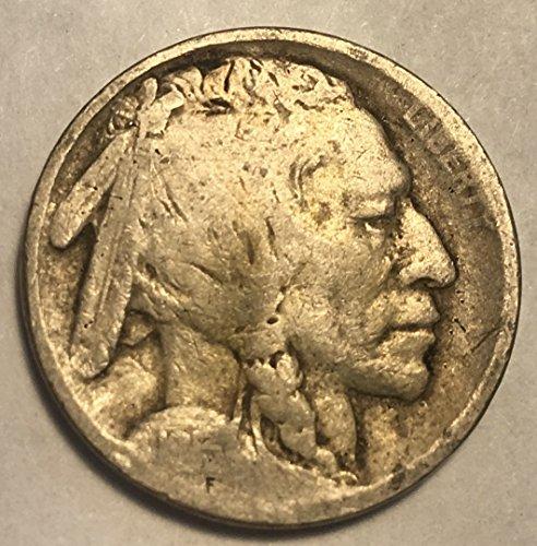 1913 Type (1913 P Buffalo ((Type II)) Nickel Seller Good)