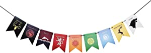 House Sigil Banner for Game of Thrones Garland Party Supplies for GOT Party Decorations