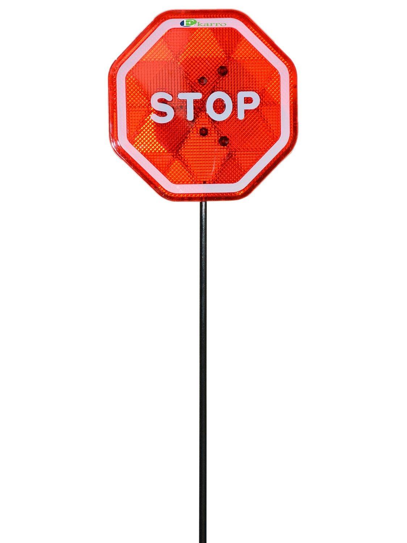 Ekarro EK-2777-002 Modern Flashing LED Stop Sign Garage Parking Assistant System