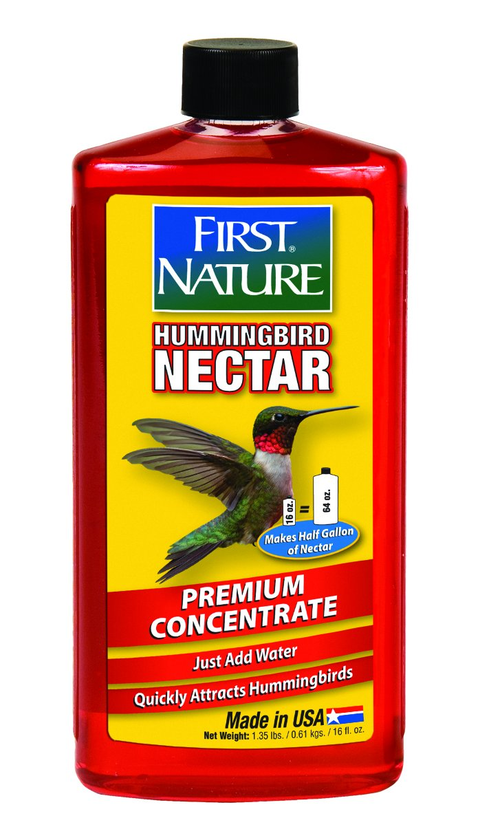 First Nature 3050 Red Hummingbird Nectar, 16-ounce Concentrate 993050-306