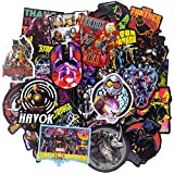 Laptop Stickers for Superheros[100PCS], Cool Graffiti Bomb Sticker for Laptop Water Bottle Hydro Flask MacBook Car Bike Bumper Skateboard Luggage, Avengers Waterproof Vinyl Decals for Kids and Adult