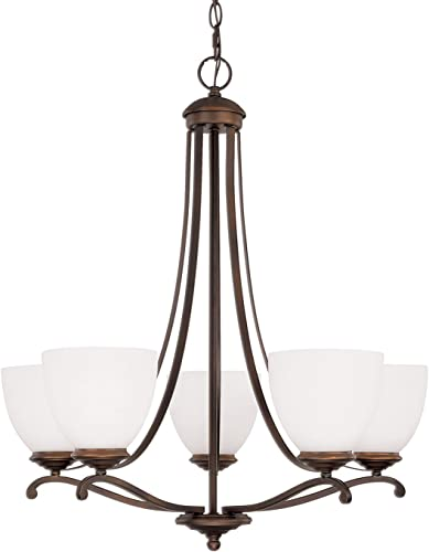 Capital Lighting 3945BB-202 Chapman Five Light Chandelier