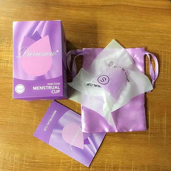 SZeao Copas Menstruales Orgánicas Cómoda Copa Menstrual ...