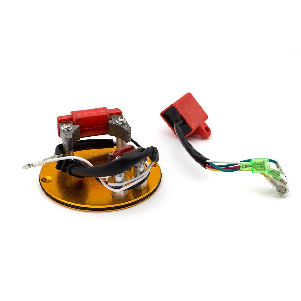 Fxcnc Racing Inner Rotor Kit Fit For Xr50 Crf50 Xr70 Pit Bike Mini Wiring Diagram Atv Engines Xr Crf 50 70 Z Bbr Thumpstar Ssr Sikk Mx Gold Car