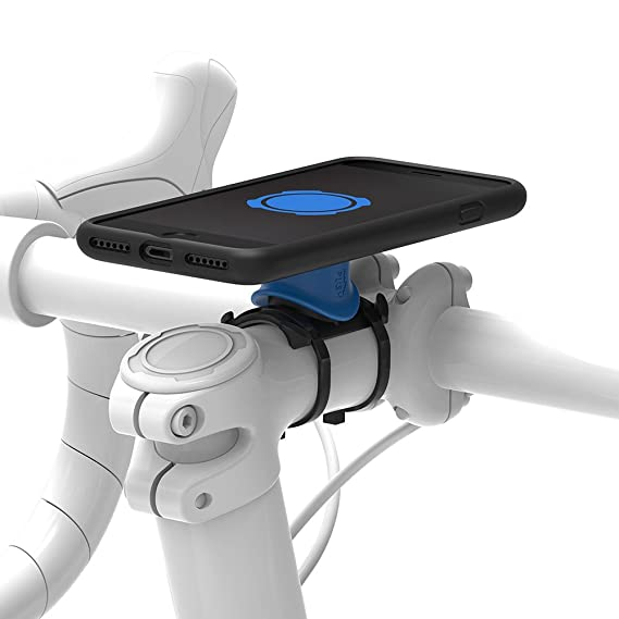 Iphone Bike Mount >> Amazon Com Quad Lock Bike Mount Kit For Iphone 8 7 Cell Phones