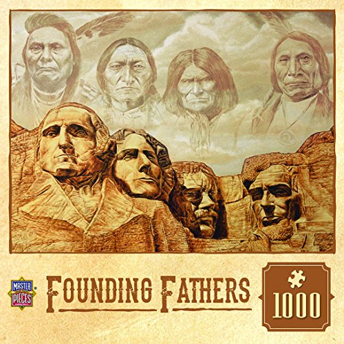 MasterPieces Founding Fathers Tribal Spirit Puzzle (1000 Piece)