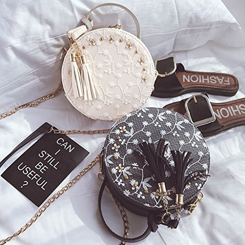 Clutch White Strap Glittered Women Numkuda Handbag Messenger Clutch Bag Purse Wallet Wedding Evening xw0HqC