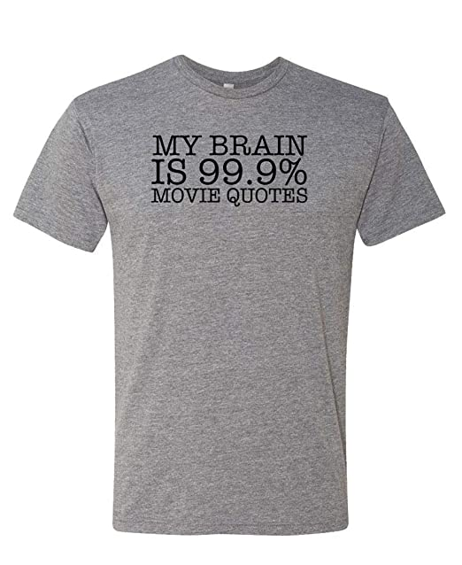 99 9% Movie Quote - Next Level Tri-Blend Tee, Sport, Small