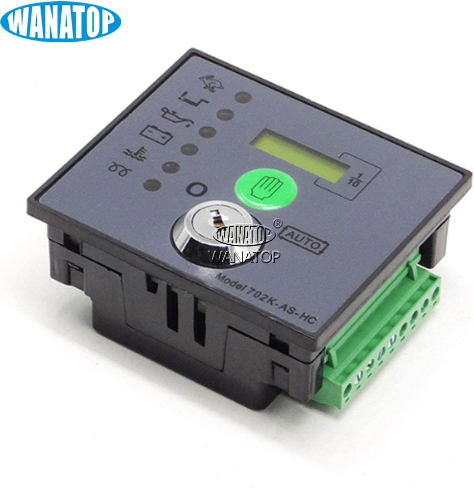 Generator Controller DSE702AS Automatic Start with Keys Replace DSE 702K-AS DSE702 702AS 702-AS