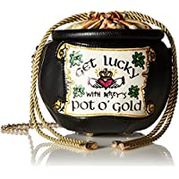 Betsey Johnson Get Lucky Pot of Gold Crossbody