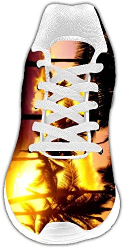 Dalliy Personalizado Hawaiano Las Zapatillas para Hombre: Amazon ...