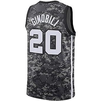 wholesale dealer 177ca 4dfb8 Amazon.com: Manu Ginobili Black City Edition Jersey: Clothing