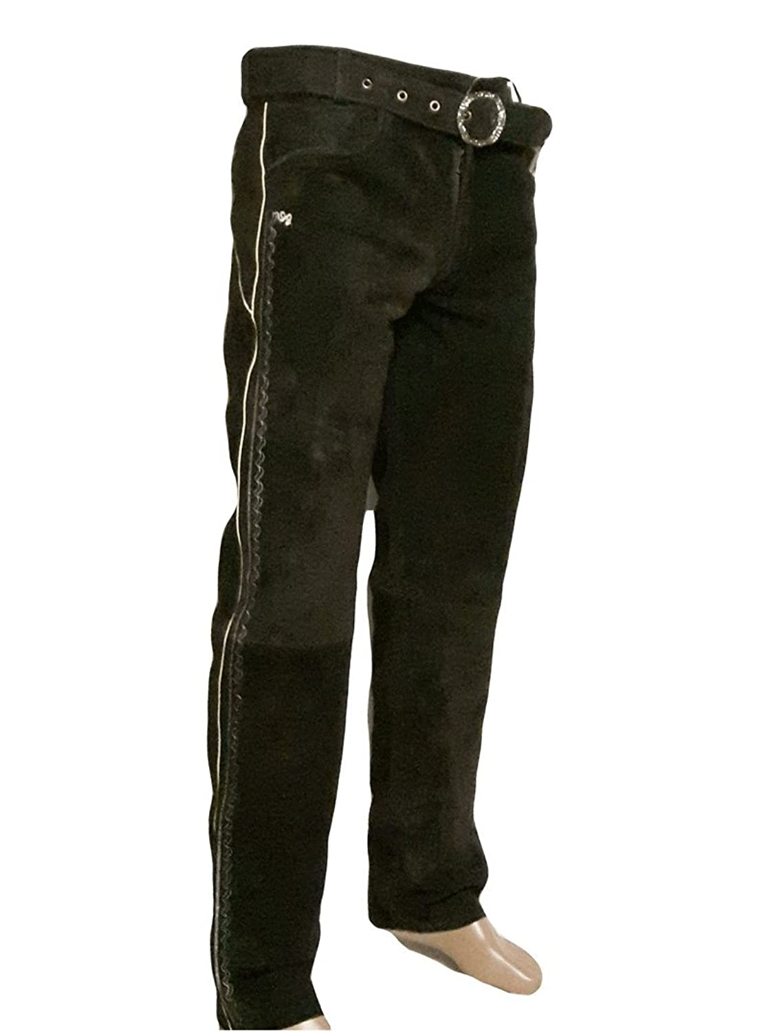 Trachtenhose Men's Straight Leg Trousers Brown Brown