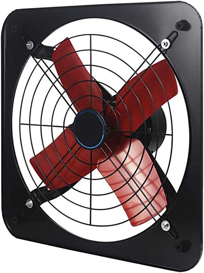 Ventilador Extractor de Pared, Extractor de Aire con Interruptor para el Hogar, Baño, Cocina y Garaje Circulación de Aire
