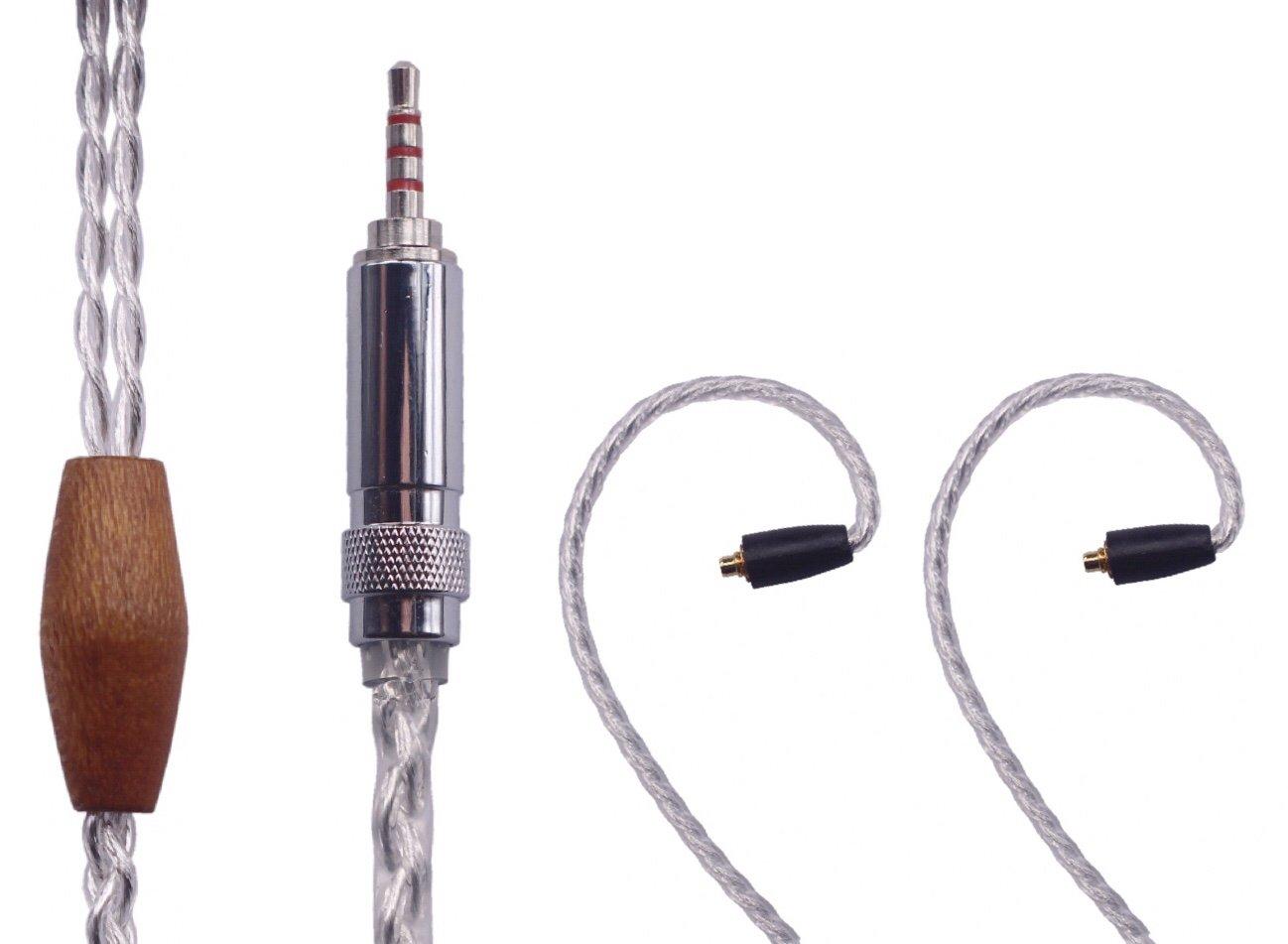 T.F-SF 2.5mm Trrs Balanced Male to Shure SE215 SE315 SE425 SE535 SE846 etc. for Astell&Kern AK100II%% AK120II%% AK240%% AK380%% AK320%% DP-X1A%% KANN etc. T.F-SF (3.9ft/1.2M) 3.9ft/1.2M  B072KF8M1Y