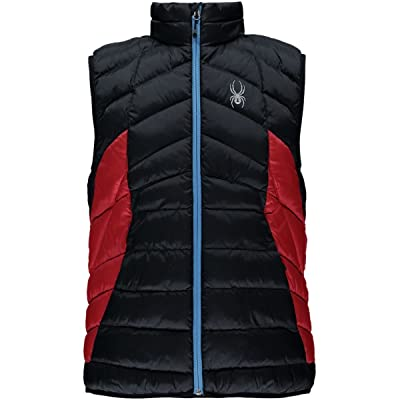 Spyder Men's Geared Synthetic Down Vest: Clothing