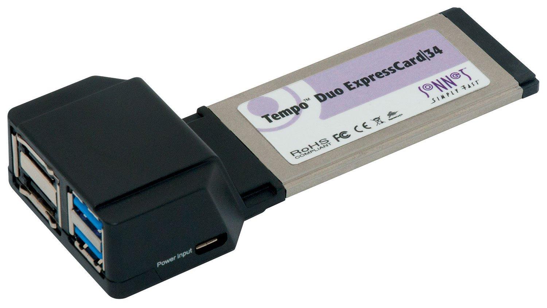 Sonnet Technologies Tempo Duo ExpressCard/34 (6GB/s eSATA + USB 3.0)