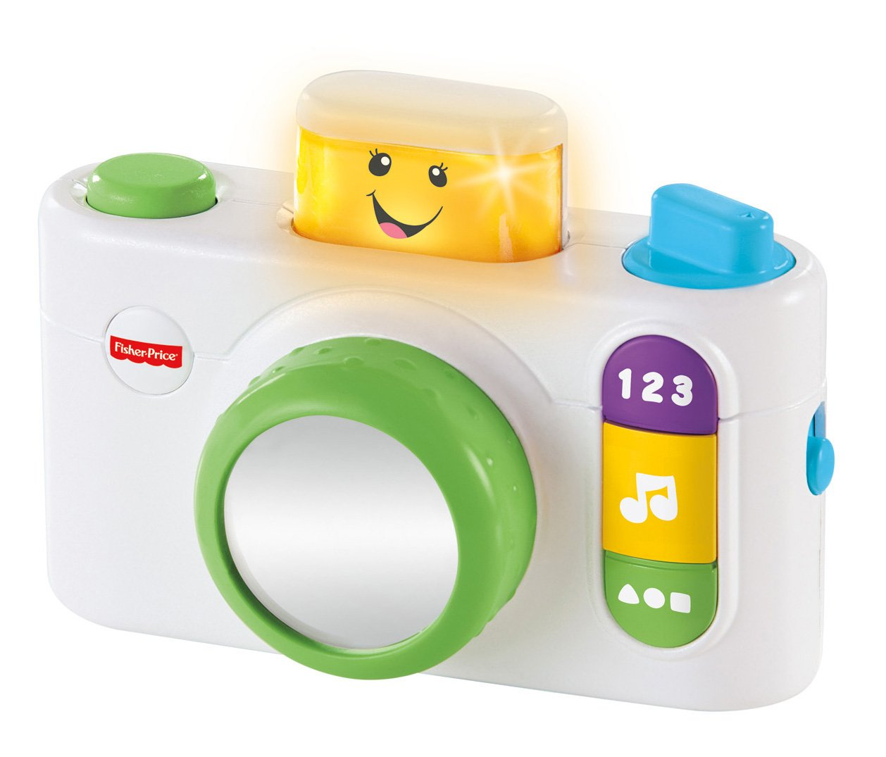 Fisher-Price Laugh & Learn Click 'n Learn Camera, White by Fisher-Price (Image #5)