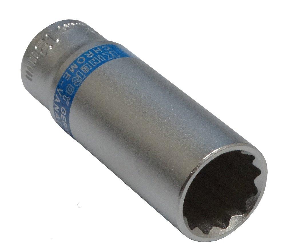 AERZETIX: Llave de vaso largo (12 caras, 13mm, 1/4') - C4242 1/4) - C4242 3800946187011