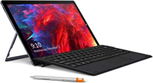 CHUWI UBook Tablet with Keyboard and H6 Stylus Pen, 11.6 inch IPS Touchscreen Windows 10 Tablet PC 2 in 1, Intel Gemini-Lake N4100 Quad-cores, 8GB RAM 256GB SSD, BT5.0, Dual Band Wi-Fi, Type-C, USB3.0