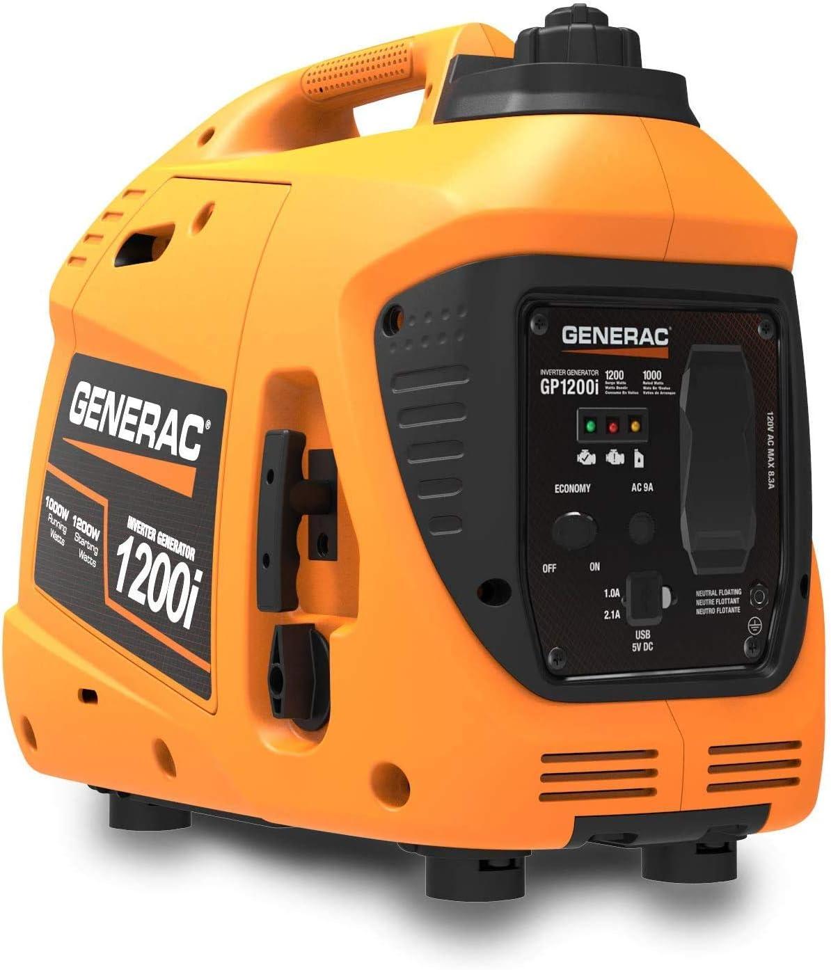 Generac 1200-Watt Portable Inverter Generator
