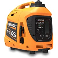 $369 » Generac 76711 GP1200i 1200 Watt Portable Inverter Generator, Orange and Black