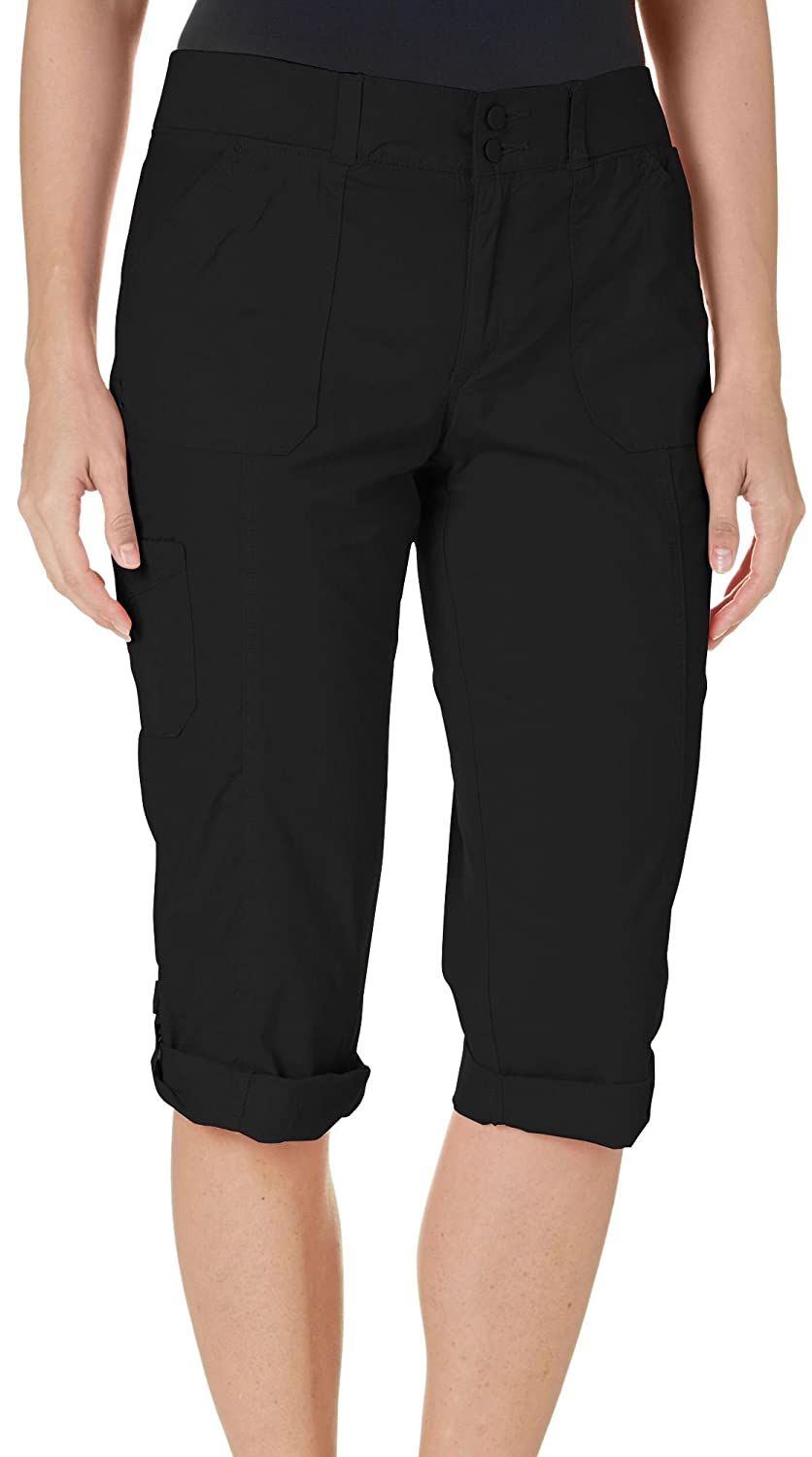 Gloria Vanderbilt Women's WILLA Cuffed Roll Hem Cargo Capris