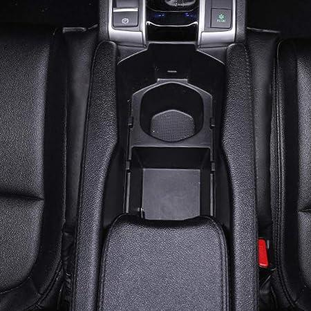 Asfins Universal Autositz Lückenfüller 2 Stück Auto Sitzlückenfüller Auslaufsicher Schützend Pad Mit 4 Stück Auto Rücksitz Kopfstütze Haken Kleiderbügel Schwarz Auto