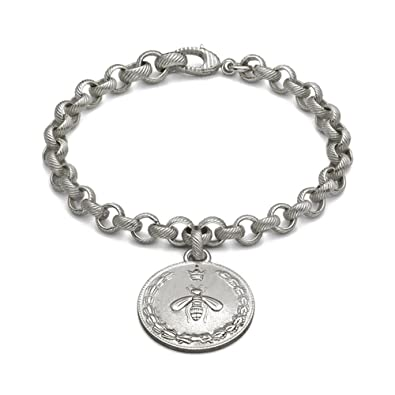 ea2e980c589b GUCCI COIN large charm bracelet YBA415780001018  Amazon.co.uk  Jewellery