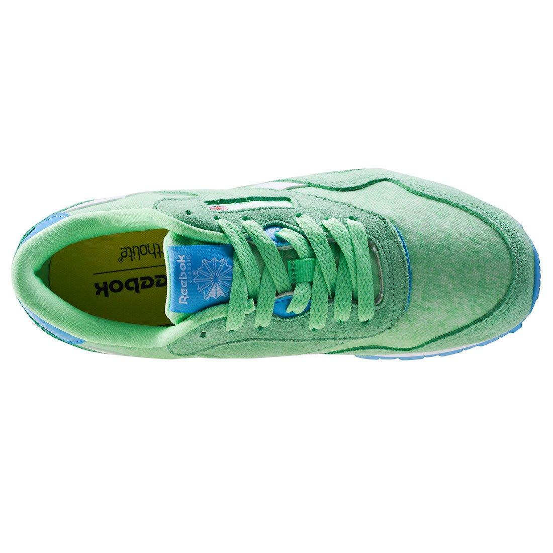 Reebok Cl Nylon Washed, Sneaker Basses Femme: