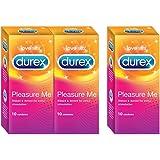 Durex Condoms, Pleasure Me - 10s (Buy 2 Get 1 Free)