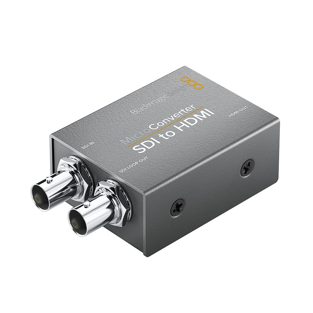 Blackmagic Design Micro Converter SDI to HDMI (with Power Supply) BMD-CONVCMIC/SH/WPSU