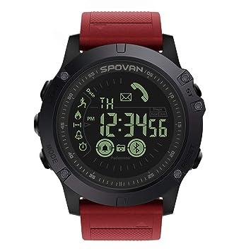 Elegante Reloj Bluetooth Inteligente: Reloj Deportivo Digital Multifunción Impermeable, Cámara De Control Remoto Con Recordatorio De Llamada, Compatible Con ...