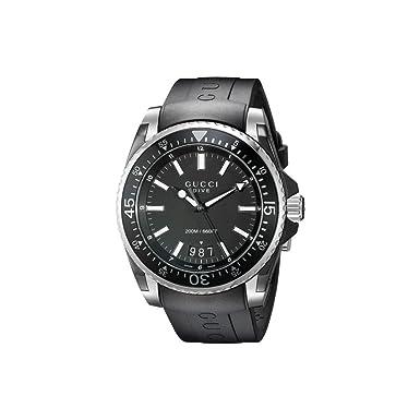 timeless design 2d9cf 99d28 Amazon.co.jp: (グッチ) Gucci メンズ 腕時計 Dive 45mm [並行 ...