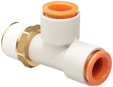 USA Sealing Push to Connect Tube Fitting 1//4 Tube OD x 1//8 Tube OD Nylon Plastic Straight Reducer
