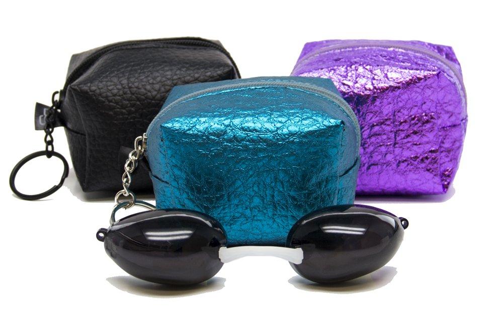 Amazon.com: Gafas de bronceado Glamour Eyes de Designer Skin ...