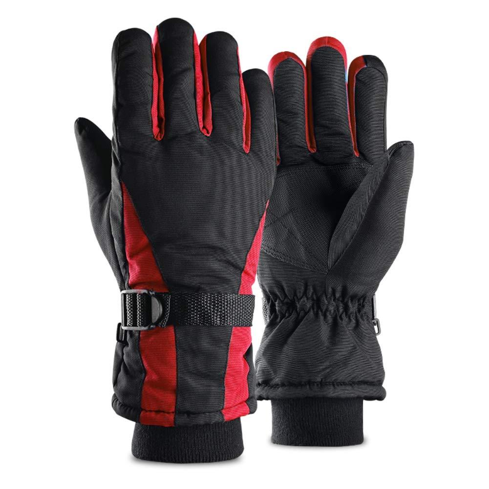 d3027e7000325d HETTO Skihandschuhe Ski/Snowboard Handschuhe Winter Sporthandschuhe  Thermohandschuhe Warm Wasserdicht sWinddicht für Skifahren Motorradfahren  Radfahren