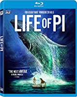 Life of Pi Blu-ray 3d from 20th Century Fox