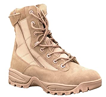 Mil Tec Tactical Boot Two Zip Coyote