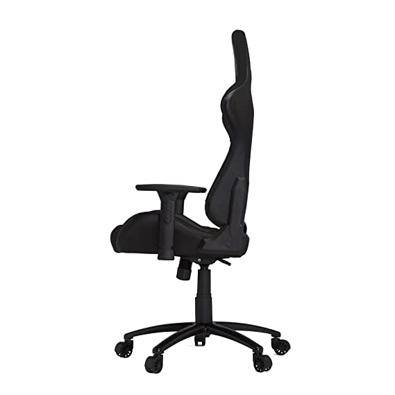 Amazon.com: HHGears XL 500 Series PC Gaming Racing Chair Black with Headrest/Lumbar Pillows: Kitchen & Dining