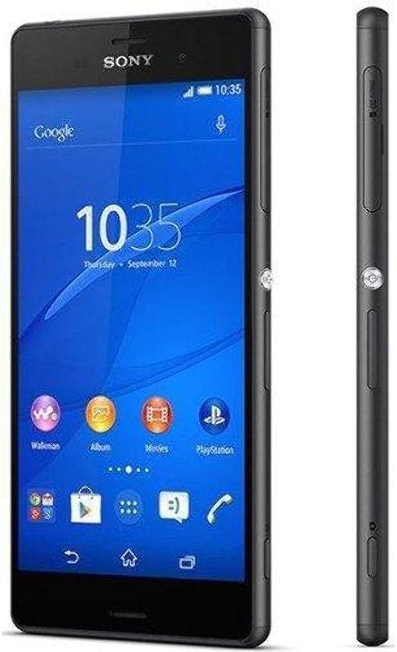 Sony Xperia Z3 D6653 Gsm Cellphone Unlocked International Version No Warranty Black Amazon Com