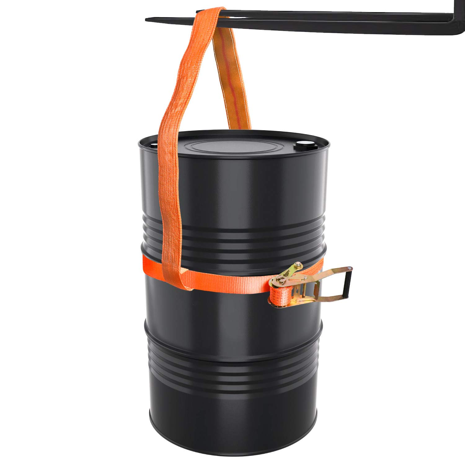 QWORK Drum Handling Sling for 55 Gallon Drum, Capacity up to 850 LB