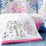 Bambi Merry Meadow 100% Egyptian Cotton Towels - 6 Piece Set - Printed