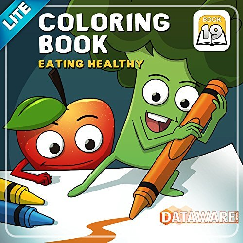 Coloring Book 19 Lite: Eating Healthy [Download]