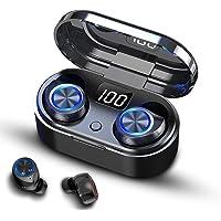 TBONEEY Audifonos Inalámbricos Bluetooth 5.0 In Ear Auriculares Inalámbricos Control Tactil Auriculares Bluetooth Deportivos Mini TWS Hi-Fi Estéreo Auriculares con Caja de Carga y Micrófono Integrado para iPhone y Android